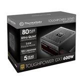 曜越 Toughpower GX1 600W 金牌 電源供應器