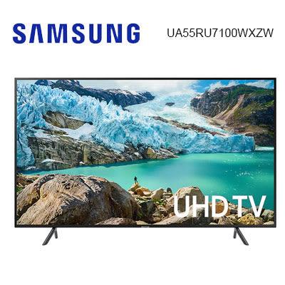 【贈北北基桃壁掛架+壁掛安裝】Samsung三星 55吋 4K 55RU7100 UHD 連網液晶電視 UA55RU7100WXZW