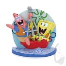 【飾品】海綿寶寶坐漂浮桶 -魚事職人