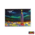【收藏天地】台灣紀念品*創意特色磁鐵 - 點亮台北 /  旅遊 紀念品 手信 景點