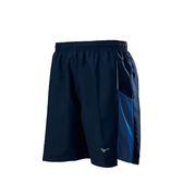 MIZUNO 男裝 短褲 慢跑 馬拉松 輕薄 舒適 透氣 深藍【運動世界】J2TB855514