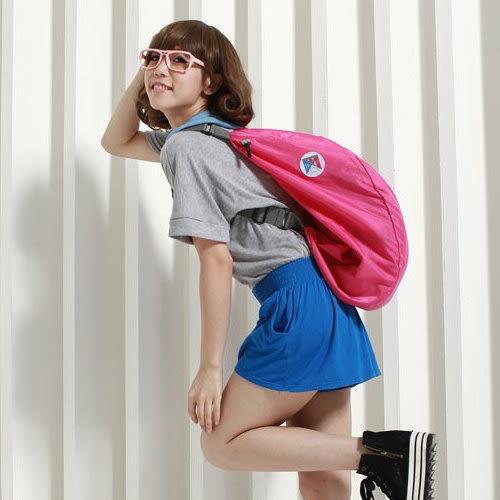 《J 精選》三用多功能輕巧摺疊收納後背包