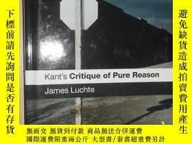 二手書博民逛書店Kant s罕見 Critique of Pure Reason