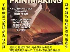 二手書博民逛書店Simple罕見PrintmakingY364682 Gwen Diehn Lark Books 出版200