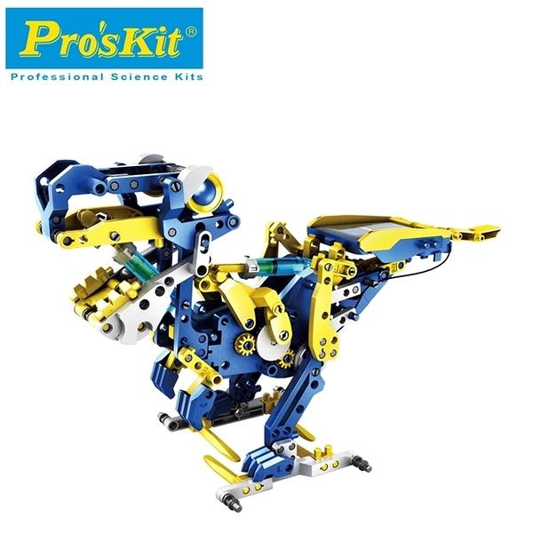 又敗家@台灣寶工Pro'skit科學玩具12合1百戰天龍GE-618挖土機械人馬車象蠍鳥無毒玩具