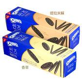 韓國 OREO 薄片夾心餅 84g 香草/提拉米蘇【BG Shop】2款可選