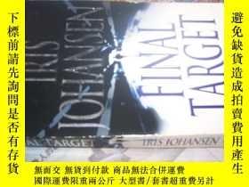 二手書博民逛書店2011-11罕見,英文原版書,《FINAL TARGET》(最
