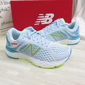 New Balance 680v6 緩震跑鞋 透氣 慢跑鞋 女款 D楦 W680RG6 綠【iSport愛運動】