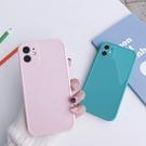 iPhone12 蘋果手機殼 預購 可掛繩 簡約糖果純色 矽膠軟殼 i11/iX/i8/i7/SE