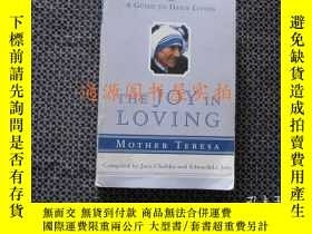 二手書博民逛書店THE罕見JOY IN LOVING(英文原版)(愛的喜悅 特蕾