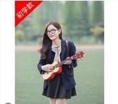 烏克麗麗尤克裏裏初學者成人男女學生21寸23寸烏克裏裏小吉他少女心櫻花粉LX 玩趣3C