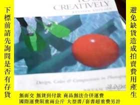 二手書博民逛書店LEARNING罕見TO SEE CREATIVELY(修訂版)