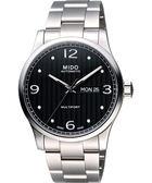 MIDO 美度 Multifort 先鋒系列時尚機械手錶-黑/42mm M0054301105000