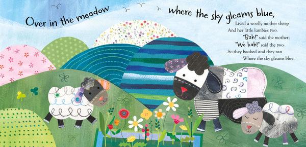 【麥克書店】OVER IN MEADOW /英文繪本附VCD《主題: 動物/農場》