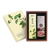 acon pure 連淨純苦茶(500ml)+麵1入(玫瑰或綠茶)禮盒組 限時特惠