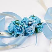 婚禮用品推薦 甜蜜花飾緞帶 手腕花