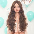 性感歌姬~中斜分長波浪捲髮【MA047】HOT!材質再升級新耐熱假髮☆雙兒網☆