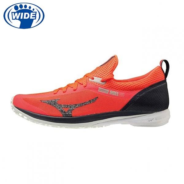 MIZUNO WAVE DUEL 2 寬楦 一般型 男款 路跑鞋 競賽鞋 馬拉松鞋 紅 U1GD207073 21SS