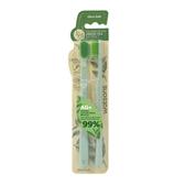 屈臣氏綠茶抗菌牙刷(超軟毛)2入
