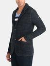 美國代購 AX ARMANI EXCHANGE 深藍色 毛質 學院風外套 (XS~XXL)