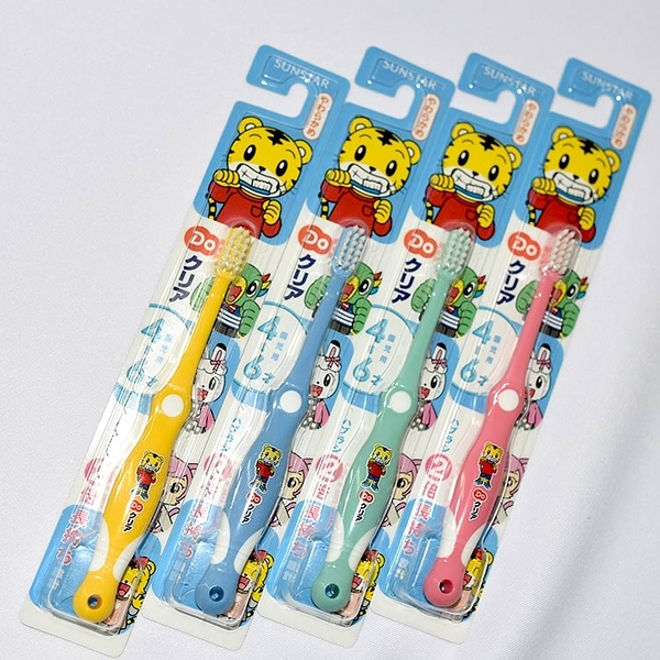 巧虎兒童牙刷 適合4-6歲小朋友 德國製 日本SUNSTAR出品 新包裝
