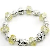 手鍊 串珠-水晶飾品時尚熱銷情人節生日禮物飾品72l133[時尚巴黎]