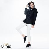 【MORR】Promac 流線剪裁機能防水外套 【個性黑】防水/透濕/透氣/戶外活動