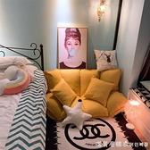 懶人沙發兩用床摺疊躺椅榻榻米單人雙人網紅女生臥室小戶型NMS【美眉新品】