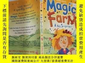 二手書博民逛書店magic罕見farm a big surprise 魔法農場是個大驚喜Y200392
