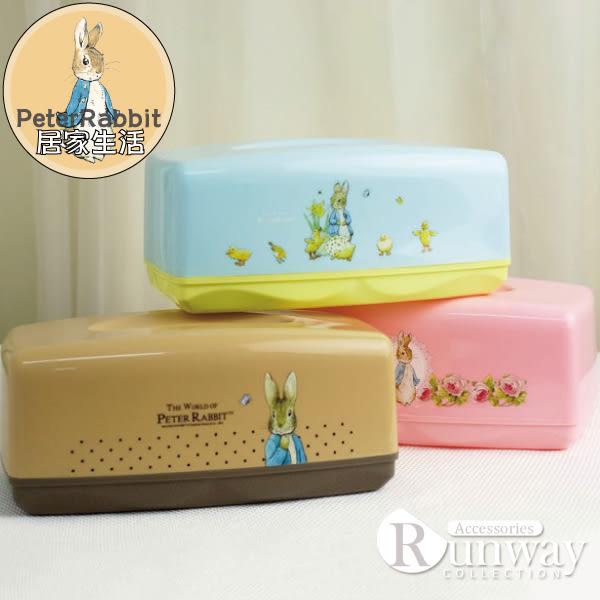 【R】彼得兔 PP面紙盒 塑膠面紙盒 比得兔 面紙盒 正版授權