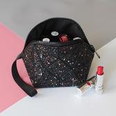 化妝包 旅行小號便攜韓國大容量皮質歐美旅行收納洗漱包