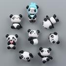 萌物可愛卡通熊貓冰箱貼磁性貼磁鐵磁扣吸鐵石【步行者戶外生活館】