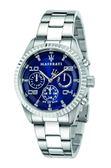 【Maserati 瑪莎拉蒂】/三眼鋼帶錶(男錶 女錶)/R8853100011/台灣總代理原廠公司貨兩年保固