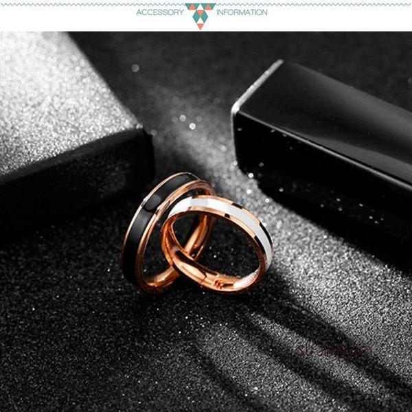 素簡手作《RG003》韓版18k玫瑰金尾戒 玫瑰金戒指 女戒 鋯石戒指