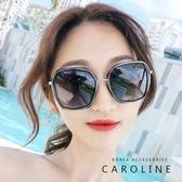 《Caroline》年度最新網紅款潮流行百搭抗UV炫彩時尚太陽眼鏡 71623