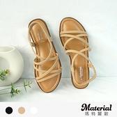 涼鞋 交叉細帶軟Q底涼鞋 MA女鞋 T50121