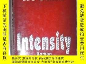 二手書博民逛書店德語原版罕見Intensity von Dean Koontz