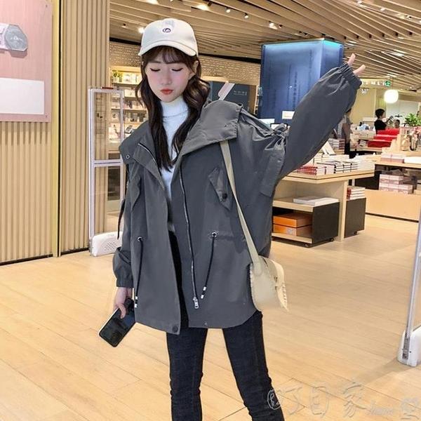 風衣流行新款風衣女裝中長款小個子寬鬆百搭秋冬季加絨韓版外套 町目家