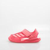 ADIDAS  包腳 兒童運動涼鞋-桃 BA9378
