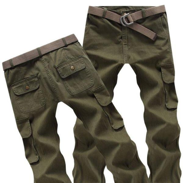 純棉加厚機修工作服褲子寬鬆耐磨耐臟勞保褲汽修電焊工作褲男 沸點奇跡