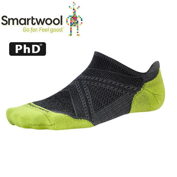 Smartwool Athletic SW167-018墨灰 男PhD低筒薄羊毛跑步襪(薄) 美麗諾羊毛襪/機能排汗襪
