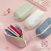 大容量筆袋文具盒多功能鉛筆盒文具收納【櫻田川島】