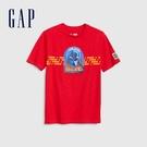 Gap男童星際大戰圓領短袖T恤573639-正紅色