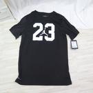 NIKE JORDAN 男童上衣 LOGO 短袖T恤 JD2122076GS001 黑白【iSport愛運動】