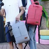 相機包多功能單反背包佳能尼康專業戶外攝影包雙肩微單相機包男女WD   電購3C