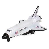 玩具飛機模型發現號航天飛機模型兒童玩具飛機聲光回力合金飛機模型