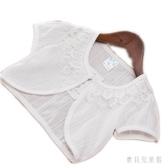 夏季兒童蕾絲純棉薄款女童披肩寶寶暗花紋鏤空全棉布純棉小坎肩IP779『寶貝兒童裝』