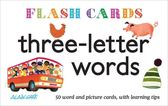 Three Letter Words Flash Cards 單字學習圖卡