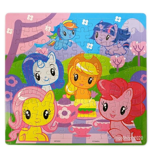 彩虹小馬拼圖 100片拼圖 MP009 /一個入(促130) Pony 小馬寶莉拼圖 幼兒卡通拼圖 正版授權拼圖 MIT製