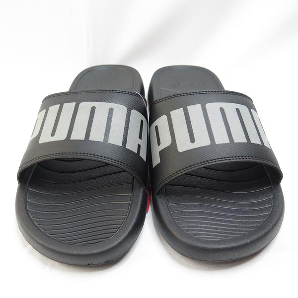PUMA POPCAT 20 REFLECTIVE 男款 拖鞋 36867701 黑【iSport愛運動】